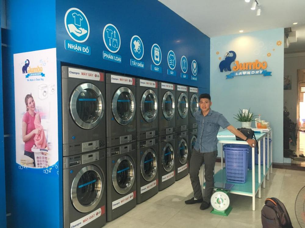 Các gói đầu tư, kinh doanh giặt sấy với Cleanpro